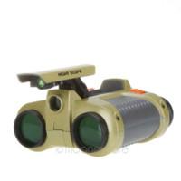 Wholesale 4 x mm Folding Telescope amp Binoculars with Pop up Light Camouflage Binoculars Night Vision Scope Telescope for Hunting XHM346