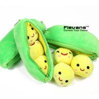 Wholesale Anime Cartoon Toy Story Little Peas Mini Plush Toys Soft Stuffed Dolls cm ANPT431