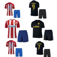 Wholesale A quality16 Atletico Madrid kit Jersey home and away GRIEZMANN F TORRES Atletico Madrid football shirt soccer jersey
