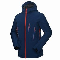 Wholesale Mens Winter Sports Outdoor Jackets Male Softshell Clothes Coats Camping Hiking Ski Coats For Waterproof Windproof Thermal VA005