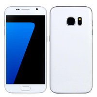 Wholesale 1GB GB G LTE Goophone S7 MTK6735 Bit Quad Core Android HD MP Nano Sim Metal Frame GPS Wifi Smartphone