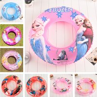 Wholesale 8 style Children s Day Gift Swim Ring Cartoon Spider man cars kity Inflatable Underarm Laps Kids Beach Supplier