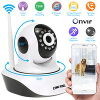 Wholesale OWSOO HD H P Surveillance IP Camera Wireless Wifi CCTV Security Pan Tilt way Audio Phone Control Night View Support TF Card S753