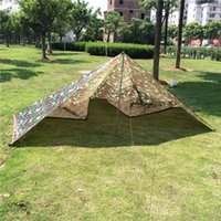 Wholesale 3 m Ultralight Caming Tarp Tent Sun Shelter Large Rian Car Tarpaulin Waterproof Cover Sun Awning Shelter Nylon Camouflage Tarps