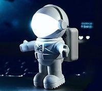 astronaut figure - Hot Products astronaut LED night light astronaut USB night light creative USB book light computer lamp