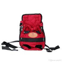 Wholesale Pet Dog Puppy Carrier Portable Backpack Bag Mesh Head out Dog Front Chest Double Shouder Bag