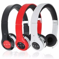 bee headset - New Bee Folding Stereo Sport Headphones for Phone Wireless Bluetooth Headset Noise cancelling Earphones with Microphone