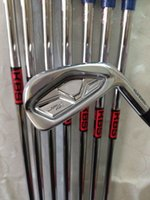 Wholesale 8PCS NEW JPX Forged Golf Irons PG with Kbs tour Steel R shaft Golf clubs JPX850 Forged Irons Come headcovers