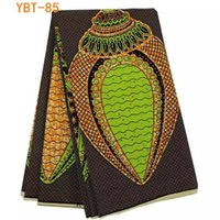 ankara material - Unique ankara fabric material african super wax with stones for wedding dress yard YBT