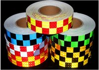 Wholesale Reflective sticker tape for truck car motorcycle van traffic signal reflective warning tape