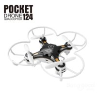 Wholesale Dron Quadrocopter FQ777 Pocket Drone CH Axis Gyro Quadcopter With Switchable Controller RTF UAV RC Helicopter mini drone