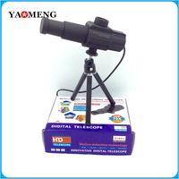 al por mayor los sistemas de video vigilancia digital-Telescopio Digital de Nueva original 70x zoom de larga distancia USB HD 2.0 MP Casa Sistema de Vigilancia de monitor de vídeo de la cámara 13 idiomas