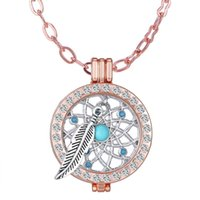 alloy heart locket - dream catcher necklace coin holder chain complete set Mi moneda locket pendant necklace mm diy coin necklace fashion jewelry