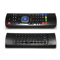 Wholesale X8 Air Fly Mouse MX3 GHz Wireless Keyboard Remote Control Somatosensory IR Learning Axis without Mic for Android TV Box Smart IPTV