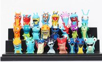 Wholesale New set cm Anime Cartoon Slugterra Mini PVC Action Figures Toys Dolls Child Toys from Lomefo