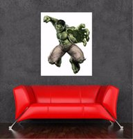 Wholesale 2016 newest hulk movie poster sticker on wall decoration of size x65cm quot x25 quot wall decor