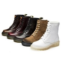 Wholesale Dr Retail winter ankle style leather sable Dr Martin boots shoes for men and women designer waterproof boots shoes of England