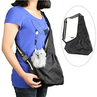 Wholesale High class Colorful Durable Oxford Cloth Sling Pet Carrier Cat Dog Tote Single Shoulder Bag Size