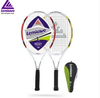 Wholesale tennis rackets rackets palio table tennis rubbers Lenwave Brand Female Tennis Training Aluminum Carbon Fiber Tennis Racket