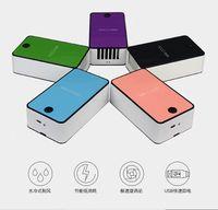 Wholesale USB Rechargeable HandHeld Table Air Conditioner Cooler Cooling Fan Air Condicionado Ventilador Red Purple Blue