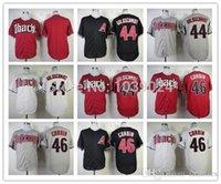 arizona hot - 2016 Cheap Paul Goldschmidt Patrick Corbin Blank Jersey Arizona Diamondbacks Jersey Baseball Jersey Black Red Gray White Hot Sale