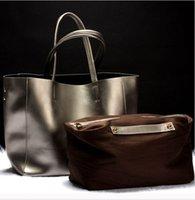 baguette handbags - Brand women Genuine leather bags Women Real leather Handbags Large Shoulder bags Designer Vintage bag Bolsas femininas