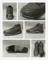 art wing - Retro Wool shoes cheap retro wool black Basketball Shoes with dustbag original box retro s man shoes US13 flu game ovo wolf wing