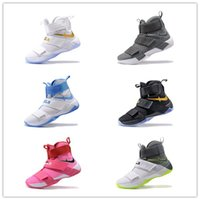 athletic shoes buy - Buy Lebron Soldier James Men s Basketball Shoes for Cheap Sale LBJ X Sports Training Athletic Shoes Size