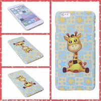 bambi case - Cute cartoon Bambi fawn Case For iPhone s plus PC plastic printed deer covers back hosing skin