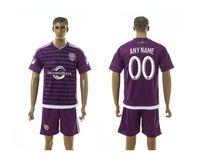 Wholesale orlando city soccer jersey football uniform home away men kits jerseys uniforms man discount shirts onsale cheap shirt kaka purple
