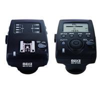 Wholesale Meike MK GT600 Wireless s HSS E TTL Flash Trigger Transmitter Receiver for Canon D D D D D D DII D D