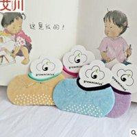 baby no show socks - Baby Socks Summer Newborn Socks Infant Toddlers Non Slip Socks Korea Socks Casual Cotton Loafer Boat Invisible Low Cut No Show Socks