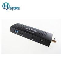 Wholesale PiPo PC stick X1s GB DDR3L GB eMMC Intel Cherry Trail Z8300 USB3 Windows just larger than a Flash Drive