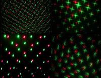 Wholesale 2016 New Mini LED R G Laser Projector Stage Lighting Adjustment DJ Disco Party Club Light