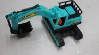 Wholesale Educational toys power control excavator truck model inertia