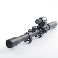 air fre - Tactical X20 Air Rifle Optics Cross Reticle Scope mm Rail Mounts Red Dot Laser Sight For Hunting Airsoft fre shipping