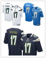 authentic chargers jersey - 2016 hot sale Youth football Youth Jerseys Philip Rivers cheap Chargers jerseys authentic football shirt size S XL