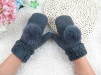 Wholesale fingerless gloves for women winter woman gloves girls winter gloves guantes mujer handschoenen winter dames mittens women