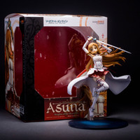 art paintings online - Sword Art Online Asuna Knights Of the blood Ver Scale Painted PVC CM quot Action Figure Collectible Toy