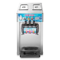 Wholesale 220V Flavor Soft Commercial Ice Cream Machine Frozen Ice Cream Cones Machine