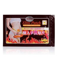 Wholesale Lazy Bone Magnetic Effective set Slim Patch SlimPatch Patches Slimming Loss Weight Fitness Health Pad