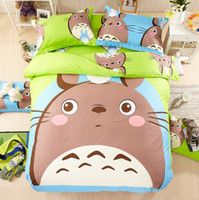 Wholesale 100 cotton Christmas Home Decor Cartoon Bedding sets Pocket monster Princess Diary Royal badge Duvet Cover Bedsheet