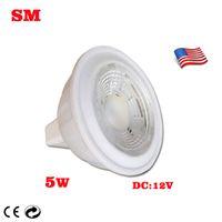 Wholesale Mr16 V W High lumens LED LED lights Cup COB Warm White Cool White DC V