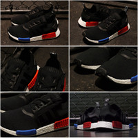 b q flooring - 20Color Drop Shipping Free Famous Originals NMD TPU Men s Unisex Sports Running Athletic Sneakers Shoes Box Sports Shoes red black q
