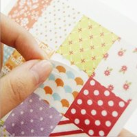 Wholesale Kawaii Stationery Flower Dot Decoration Label Cute Diary Stickers DIY Scrapbooking Stickers