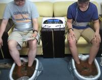 bath detox - High Tech Dual lon Cleanse Detox Foot Spa DHL Fedex UPS EMS High Ionic Cleaner Detox Machine Spa