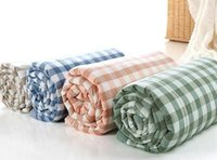 Wholesale four colors Washed cotton summer was cooler summer air conditioning was double cotton quilt cotton summer was thin quilts