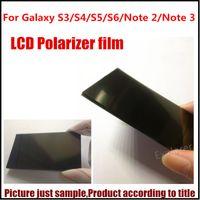 Wholesale 20Pcs Original New Polarizer Polarizing Polarized Film diffuser for Samsung Galaxy S3 S4 S5 S5 mini S6 Note Note replacement Parts