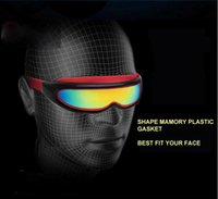 Wholesale One Piece Swimming Goggles Mirror Coated Anti fog with Hard Case Adult Snorkelling Mask Diving Glasses Swimming Racing goggle