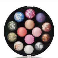 baking power - 2016 HOT and popular baked power mixed color eyeshadow blush makeup plate gentle and long lasting